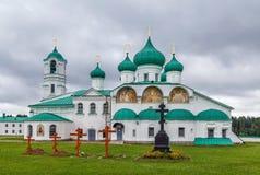 亚历山大Svirsky修道院,俄罗斯 免版税库存照片