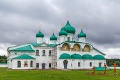 亚历山大Svirsky修道院,俄罗斯 免版税库存图片