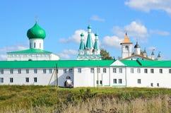 亚历山大Svirsky,俄罗斯三位一体修道院  免版税库存照片