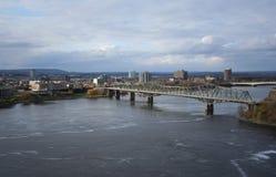 亚历山德拉桥梁渥太华 库存图片