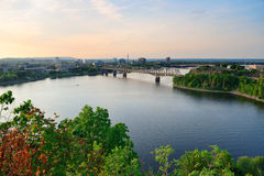 亚历山德拉桥梁 免版税图库摄影