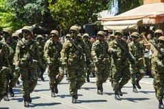 亚历山德鲁波利斯, GREECE-MAY 14日2018年:希腊特种部队 Selebra 库存照片