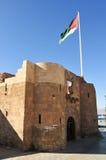亚喀巴堡垒在亚喀巴,南约旦 免版税库存照片