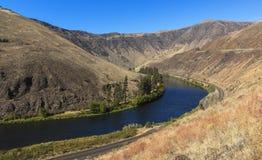 亚基马河峡谷 库存图片
