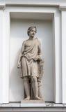 亚多尼斯雕象Elagin海岛宫殿和公园复合体的厨房军团的适当位置的在圣彼德堡 免版税图库摄影