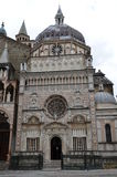 亚尔他贝加莫教堂citta colleoni意大利 免版税库存照片