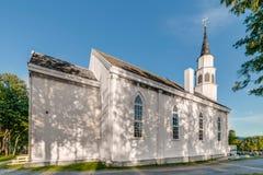 亚尔他的,挪威亚尔他英国有灵感的哥特式教会 图库摄影