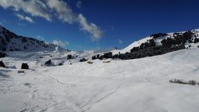 亚尔他Badia手段- Sella朗达-意大利阿尔卑斯- Dolomiti Supers 免版税库存照片