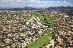 亚尔他Mesa高尔夫球 免版税库存照片