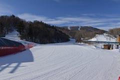 亚布力滑雪旅游度假区 免版税库存图片
