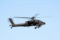 亚帕基印第安人直升机 免版税库存照片
