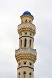 亚庇市清真寺门面在马来西亚 图库摄影