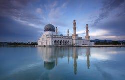 亚庇市清真寺,亚庇沙巴 图库摄影