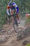 亚当・克雷格骑自行车者专业人员 库存图片