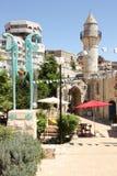 亚当和伊娃雕塑在以色列 免版税库存图片