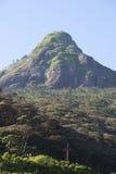 亚当峰顶的看法  斯里南卡 库存图片