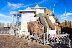 亚当斯峰顶寺庙,斯里兰卡 库存照片
