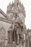 亚当黑色雕象哈奇森1877,皇家英里街道;Edinbu 免版税库存图片