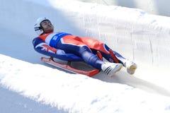 亚当Rosen -无舵雪橇 免版税库存照片