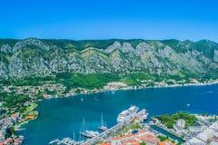 亚得里亚海和划线员 免版税库存图片