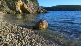 亚得里亚海海滩 图库摄影