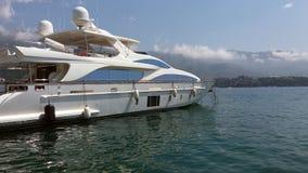 亚得里亚海的克罗地亚看见游艇 免版税图库摄影