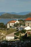 亚得里亚海的教堂 库存图片