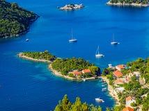 亚得里亚海的横向 免版税图库摄影