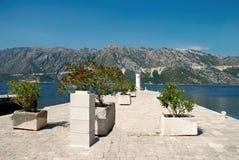 亚得里亚海的海岛 库存图片