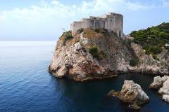 亚得里亚海的海岸 免版税图库摄影