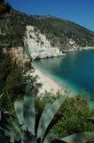 亚得里亚海的海岸italys 图库摄影