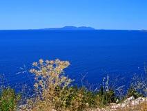 亚得里亚海的清晰克罗地亚 免版税库存图片