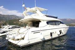 亚得里亚海的游艇 免版税图库摄影