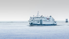 亚得里亚海的灯塔 库存图片