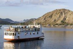 亚得里亚海的灯塔 免版税库存图片