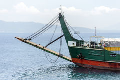 亚得里亚海的灯塔 免版税图库摄影