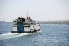 亚得里亚海的灯塔 库存照片