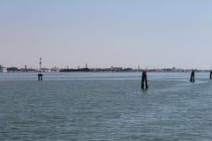 亚得里亚海的看法在Vienice附近的 图库摄影