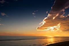 亚得里亚海的黎明 免版税图库摄影