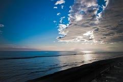 亚得里亚海的黎明 库存照片