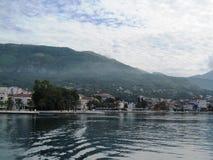 亚得里亚海,黑山 免版税库存图片