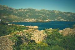 亚得里亚的海岸线 免版税库存照片