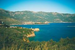 亚得里亚的海岸线 库存图片