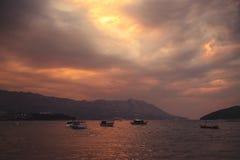 亚得里亚的海岸线 图库摄影