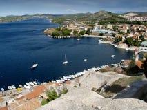 亚得里亚croatien海运 免版税库存图片