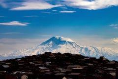 亚拉拉特山 库存图片