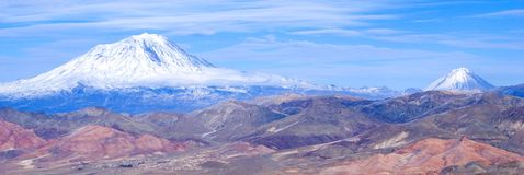 亚拉拉特山 免版税库存照片