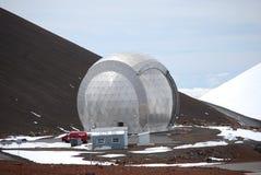 亚毫米caltech的观测所 库存照片