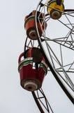 亚洛瓦市空的游艺集市  免版税图库摄影
