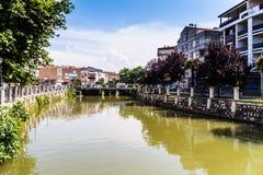 亚洛瓦市-土耳其都市水道  库存图片